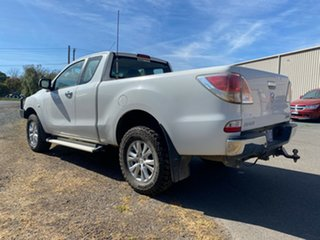2012 Mazda BT-50 UP0YF1 XTR Freestyle White 6 Speed Manual Utility