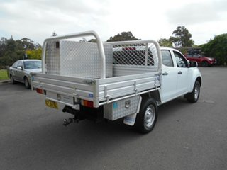 2015 Isuzu D-MAX TF MY15 SX (4x4) White 5 Speed Manual Crew Cab Chassis