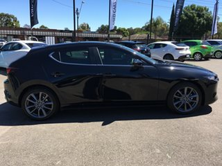 2019 Mazda 3 BP2HLA G25 SKYACTIV-Drive Evolve Black 6 Speed Sports Automatic Hatchback.
