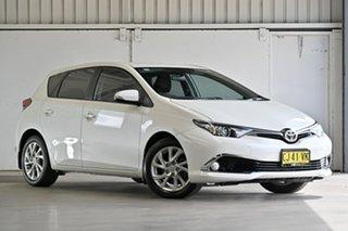 2016 Toyota Corolla ZRE182R Ascent Sport S-CVT Crystal Pearl 7 Speed Constant Variable Hatchback.
