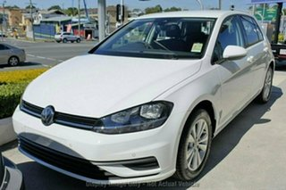 2019 Volkswagen Golf 7.5 MY20 110TSI DSG Trendline White 7 Speed Sports Automatic Dual Clutch.