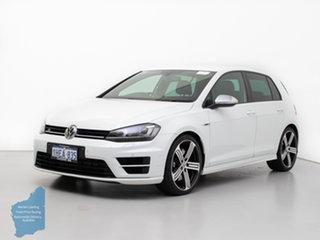 2016 Volkswagen Golf AU MY16 R White 6 Speed Direct Shift Hatchback.