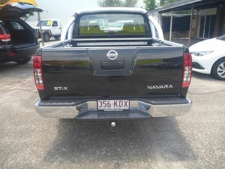 2007 Nissan Navara D40 ST-X Black 6 Speed Manual Utility