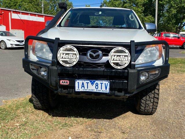 Used Mazda BT-50 UP0YF1 XTR Freestyle Bendigo, 2012 Mazda BT-50 UP0YF1 XTR Freestyle White 6 Speed Manual Utility