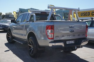 2018 Ford Ranger PX MkII 2018.00MY XLT Super Cab Grey 6 Speed Sports Automatic Utility