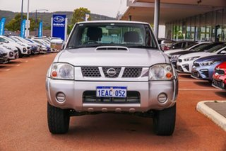 2012 Nissan Navara D22 S5 ST-R Silver 5 Speed Manual Utility