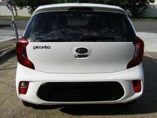 2019 Kia Picanto JA MY19 S White 5 Speed Manual Hatchback.