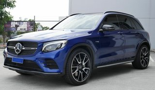 2018 Mercedes-Benz GLC-Class X253 809MY GLC43 AMG 9G-Tronic 4MATIC Blue 9 Speed Sports Automatic.