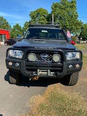 2015 Nissan Patrol Y61 GU 10 ST Platinum 5 Speed Manual Wagon.