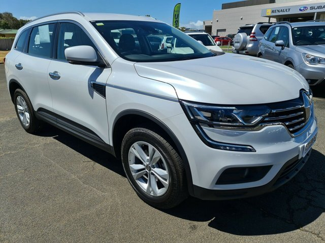 Used Renault Koleos HZG Life X-tronic Warrnambool East, 2019 Renault Koleos HZG Life X-tronic White 1 Speed Constant Variable Wagon
