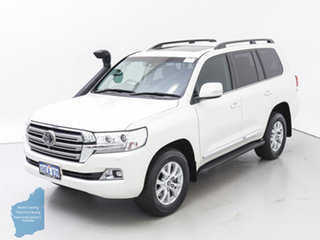 2018 Toyota Landcruiser VDJ200R MY16 Sahara (4x4) White 6 Speed Automatic Wagon