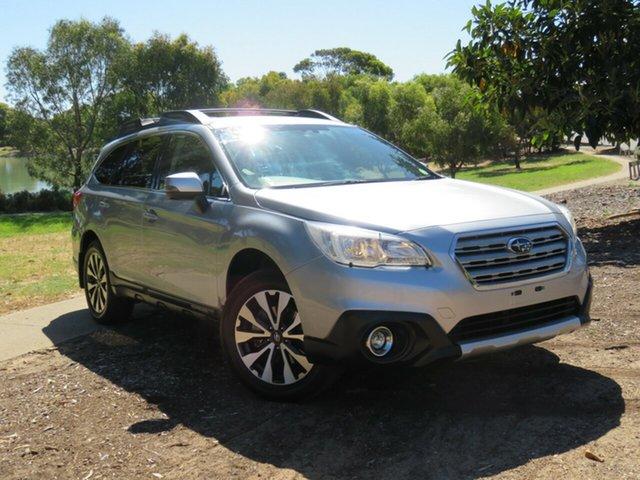 Used Subaru Outback B6A MY17 2.5i CVT AWD Morphett Vale, 2016 Subaru Outback B6A MY17 2.5i CVT AWD Silver 6 Speed Constant Variable Wagon