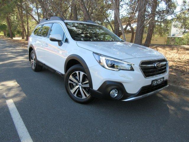 Demo Subaru Outback B6A MY20 2.5i CVT AWD Premium Reynella, 2020 Subaru Outback B6A MY20 2.5i CVT AWD Premium Crystal White 7 Speed Constant Variable Wagon