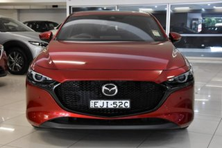 2020 Mazda 3 BP2HHA X20 SKYACTIV-Drive Astina Red 6 Speed Sports Automatic Hatchback.
