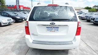 2011 Kia Carnival VQ MY11 S White 4 Speed Sports Automatic Wagon