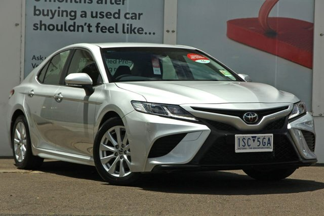 Pre-Owned Toyota Camry ASV70R Ascent Sport Ferntree Gully, 2020 Toyota Camry ASV70R Ascent Sport Silver Pearl 6 Speed Sports Automatic Sedan