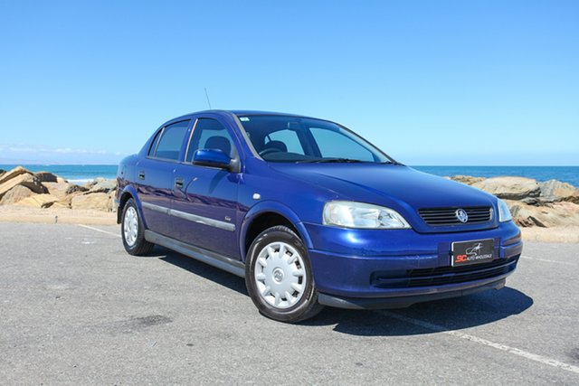 Used Holden Astra TS MY03 City Lonsdale, 2003 Holden Astra TS MY03 City Blue 5 Speed Manual Hatchback