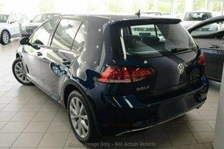 2019 Volkswagen Golf 7.5 MY20 110TSI DSG Comfortline Blue 7 Speed Sports Automatic Dual Clutch.