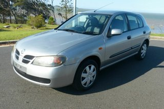 2005 Nissan Pulsar N16 S2 MY2004 ST Silver 5 Speed Manual Hatchback