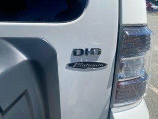2008 Mitsubishi Pajero NS Platinum Edition White 5 Speed Sports Automatic Wagon