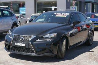 2015 Lexus IS GSE31R IS350 F Sport Black 8 Speed Sports Automatic Sedan.