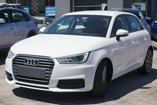 2015 Audi A1 8X MY14 Attraction Sportback S Tronic White 7 Speed Sports Automatic Dual Clutch.