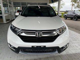 2019 Honda CR-V VTi-L White Constant Variable Wagon.