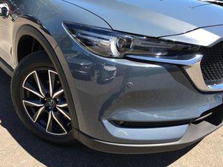 2020 Mazda CX-5 KF4WLA GT SKYACTIV-Drive i-ACTIV AWD Polymetal Grey 6 Speed Sports Automatic Wagon.