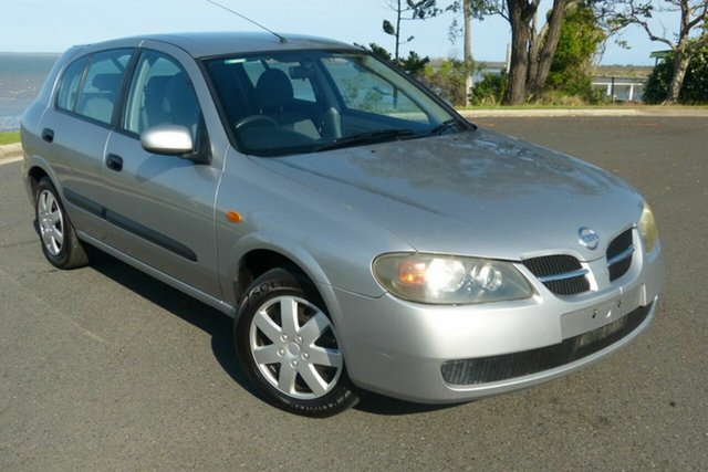 Used Nissan Pulsar N16 S2 MY2004 ST Gladstone, 2005 Nissan Pulsar N16 S2 MY2004 ST Silver 5 Speed Manual Hatchback