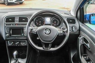 2015 Volkswagen Polo 6R MY15 81TSI DSG Comfortline Blue 7 Speed Sports Automatic Dual Clutch
