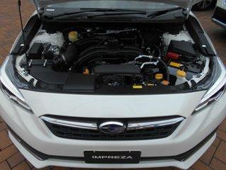 2020 Subaru Impreza G5 MY20 2.0i-S CVT AWD Crystal White 7 Speed Constant Variable Hatchback