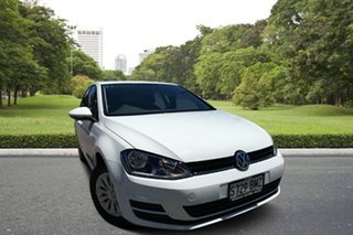 2016 Volkswagen Golf VII MY17 92TSI DSG White 7 Speed Sports Automatic Dual Clutch Hatchback.