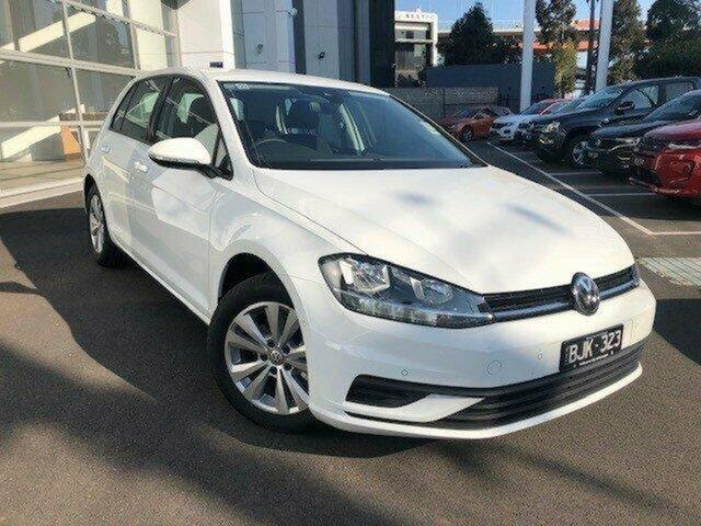 Demo Volkswagen Golf 7.5 MY20 110TSI DSG Trendline Port Melbourne, 2019 Volkswagen Golf 7.5 MY20 110TSI DSG Trendline White 7 Speed Sports Automatic Dual Clutch
