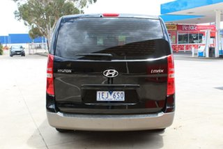 2013 Hyundai iMAX TQ MY13 Black 4 Speed Automatic Wagon