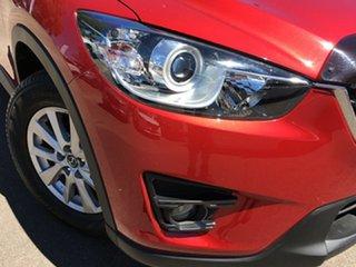 2016 Mazda CX-5 KE1022 Maxx SKYACTIV-Drive AWD Sport Red/Black 6 Speed Sports Automatic Wagon.