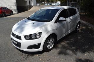 2014 Holden Barina TM MY14 CD White 5 Speed Manual Hatchback