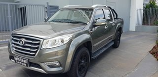 2018 Great Wall Steed NBP (4x2) Grey 6 Speed Manual Dual Cab Utility.