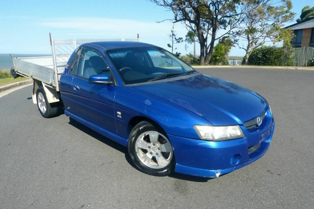 Used Holden Ute VY II S Gladstone, 2004 Holden Ute VY II S Blue 4 Speed Automatic Utility