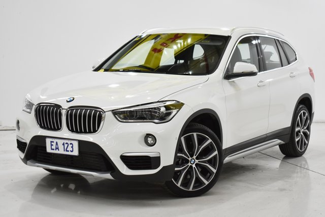 Used BMW X1 F48 xDrive25i Steptronic AWD Brooklyn, 2019 BMW X1 F48 xDrive25i Steptronic AWD White 8 Speed Sports Automatic Wagon