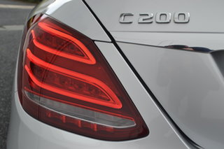 2016 Mercedes-Benz C-Class W205 807MY C200 7G-Tronic + Iridium Silver 7 Speed Sports Automatic Sedan