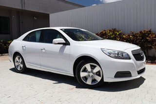 2013 Holden Malibu V300 MY13 CD White 6 Speed Sports Automatic Sedan.