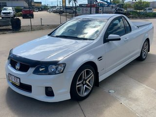 2011 Holden Ute VE II SV6 White 6 Speed Sports Automatic Utility