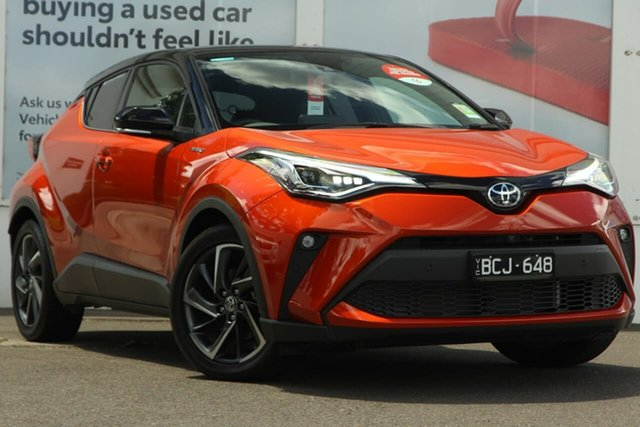 Pre-Owned Toyota C-HR NGX10R Koba S-CVT 2WD Ferntree Gully, 2019 Toyota C-HR NGX10R Koba S-CVT 2WD Inferno Orange 7 Speed Constant Variable Wagon