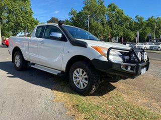 2012 Mazda BT-50 UP0YF1 XTR Freestyle White 6 Speed Manual Utility.