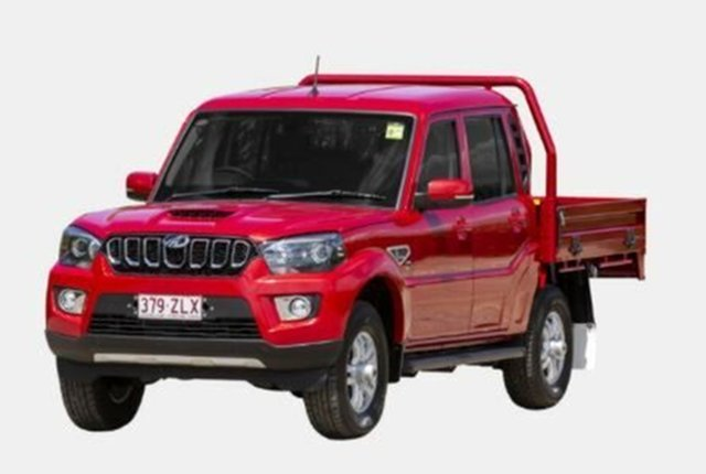 Demo Mahindra Pik-Up MY20 S10+ Atherton, 2020 Mahindra Pik-Up MY20 S10+ Red 6 Speed Manual Cab Chassis