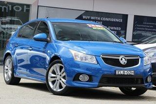 2014 Holden Cruze JH Series II MY14 SRi-V Blue 6 Speed Sports Automatic Hatchback.