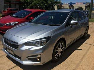 2016 Subaru Impreza G5 2.0I Premium Silver Constant Variable.