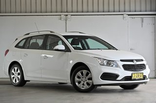 2016 Holden Cruze JH Series II MY16 CD Sportwagon White 6 Speed Sports Automatic Wagon.