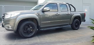 2018 Great Wall Steed NBP (4x2) Grey 6 Speed Manual Dual Cab Utility