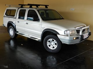 2005 Mazda B2500 MY05 Upgrade Bravo DX (4x4) Silver 5 Speed Manual Dual Cab Pick-up.
